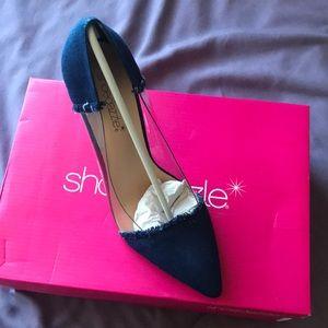 Jean heels by shoe dazzle